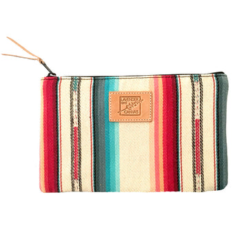 Bright Desert Stripe Pouch