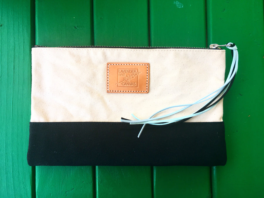 Black & White Emmys Pouch