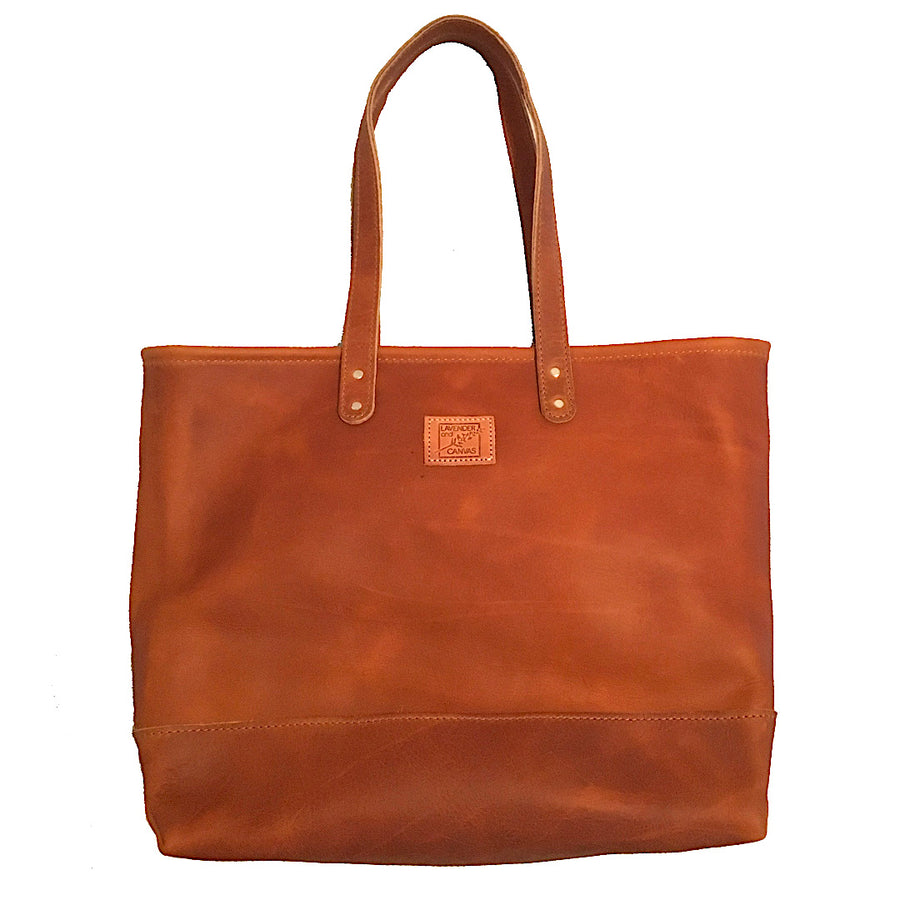 Favorite Leather Carryall in Chestnut