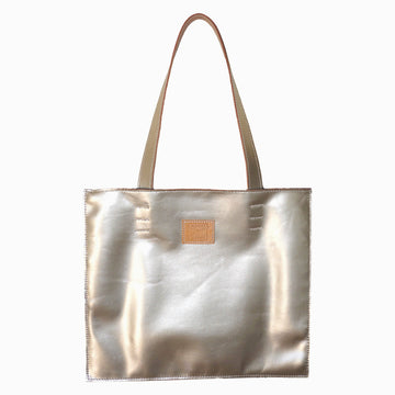 The New York City Bag in Platinum