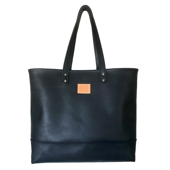 Favorite Leather Carryall in Black