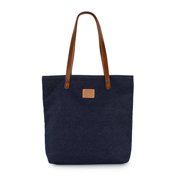 Dark Denim Feed Bag