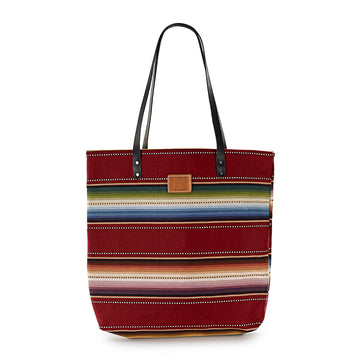 Red Sarape Feed Bag