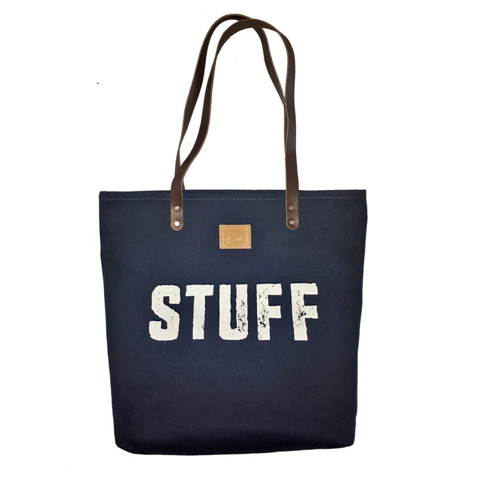 STUFF Canvas Feed Bag