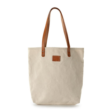 Natural Canvas Feed Bag