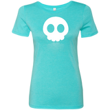 Chibi Skull Next Level Womens Tee