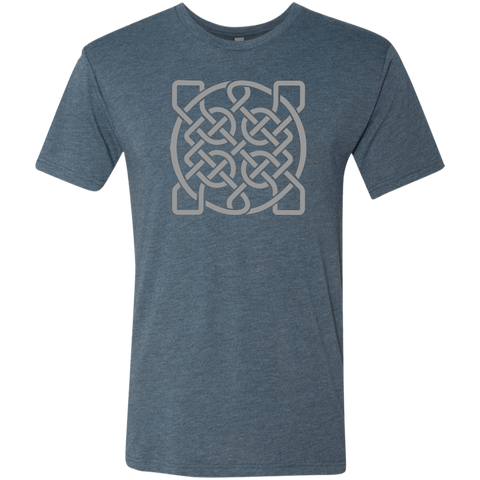 Square Celtic Knot - Men's T-shirt