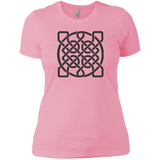 Square Celtic Knot, Black version - Women's T-shirt