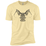 Gargoyle, celtic stone demon - Men's T-shirt