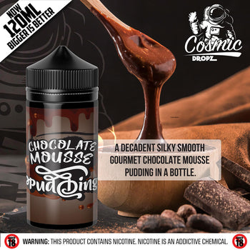 Cosmic Dropz - Chocolate Mousse Pudding Nic Salts