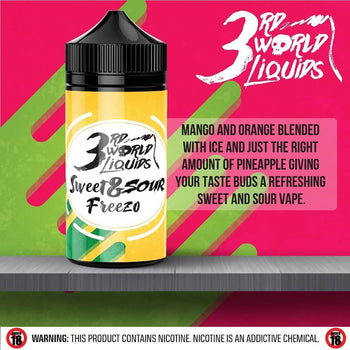 3rd World Liquids - Sweet 'n Sour