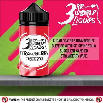 3rd World Liquids - Strawberry Freezo