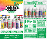 CBDfx - Strawberry Kiwi – CBD Vape Juice 30ml