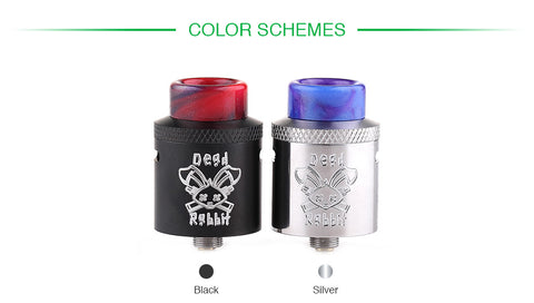 Dead Rabbit 24mm RDA By Heathen / Hellvape