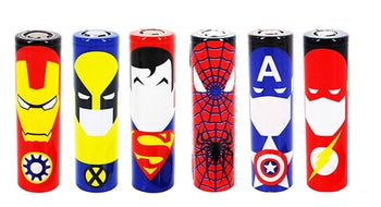 Super Hero Battery Wraps - Vape Clouds