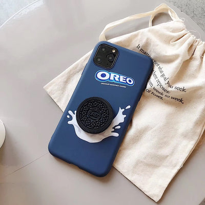 3D Oreo cookie iPhone case