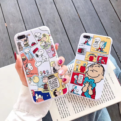 Snoopy cute iPhone case