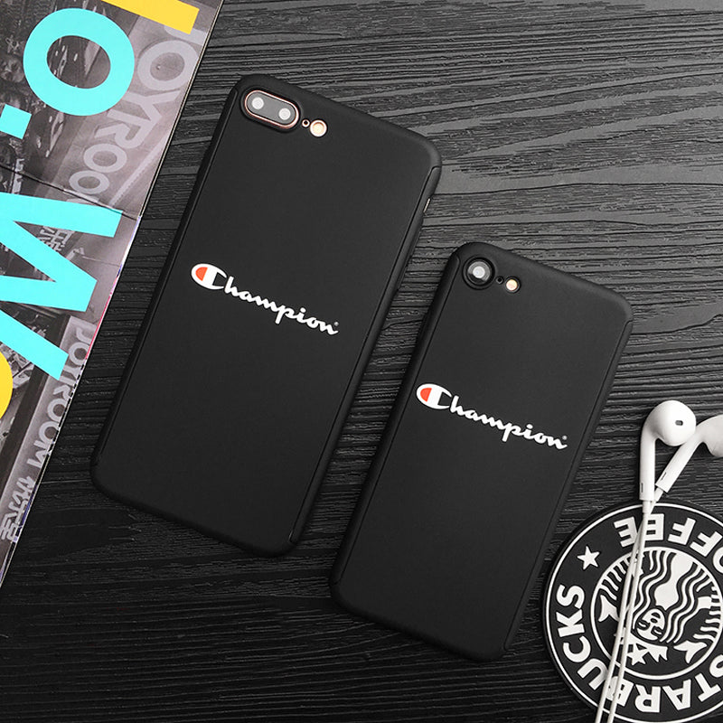 wholesale dealer bd91c f0efa black champion iphone case with wristlet strap