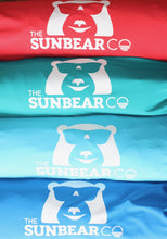 SunBear Shades come in carrying bags. Red, Turquoise, Light Blue and Blue