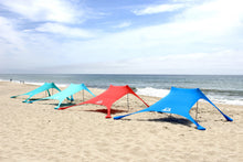 The SunBear Shade by the SunBear Co. comes in Turquoise, Light Blue, Red and Blue