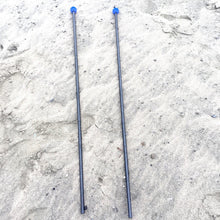 A pair of extra poles for setting up your SunBear Shade with four poles instead of two. Works on the beach, dirt, grass or anywhere you chill!