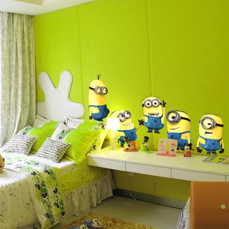 The Best & Cheap Minions Wall Stickers Home Decorations – Supreme ...