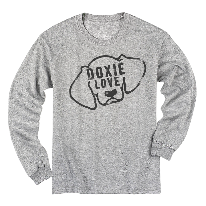 BSL Doxie Love LS Tee