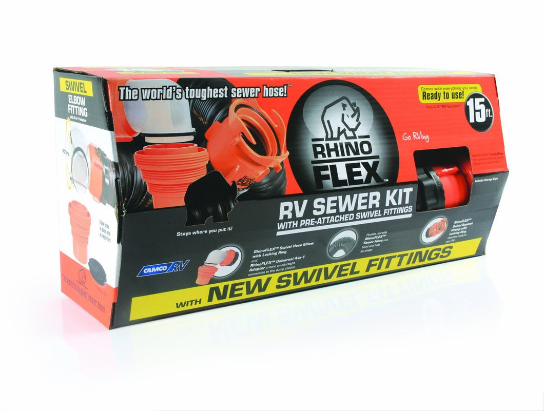 Rhino Flex Hose kit 15'