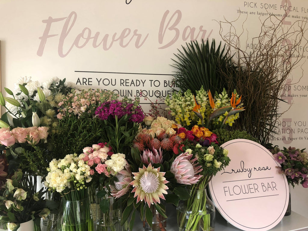 Are you ready to build your own Ruby Rose Bouquet?
