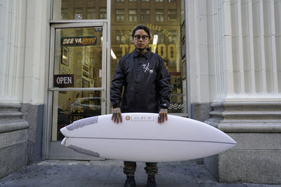 "Album ""Go-Go"" Surfboard"