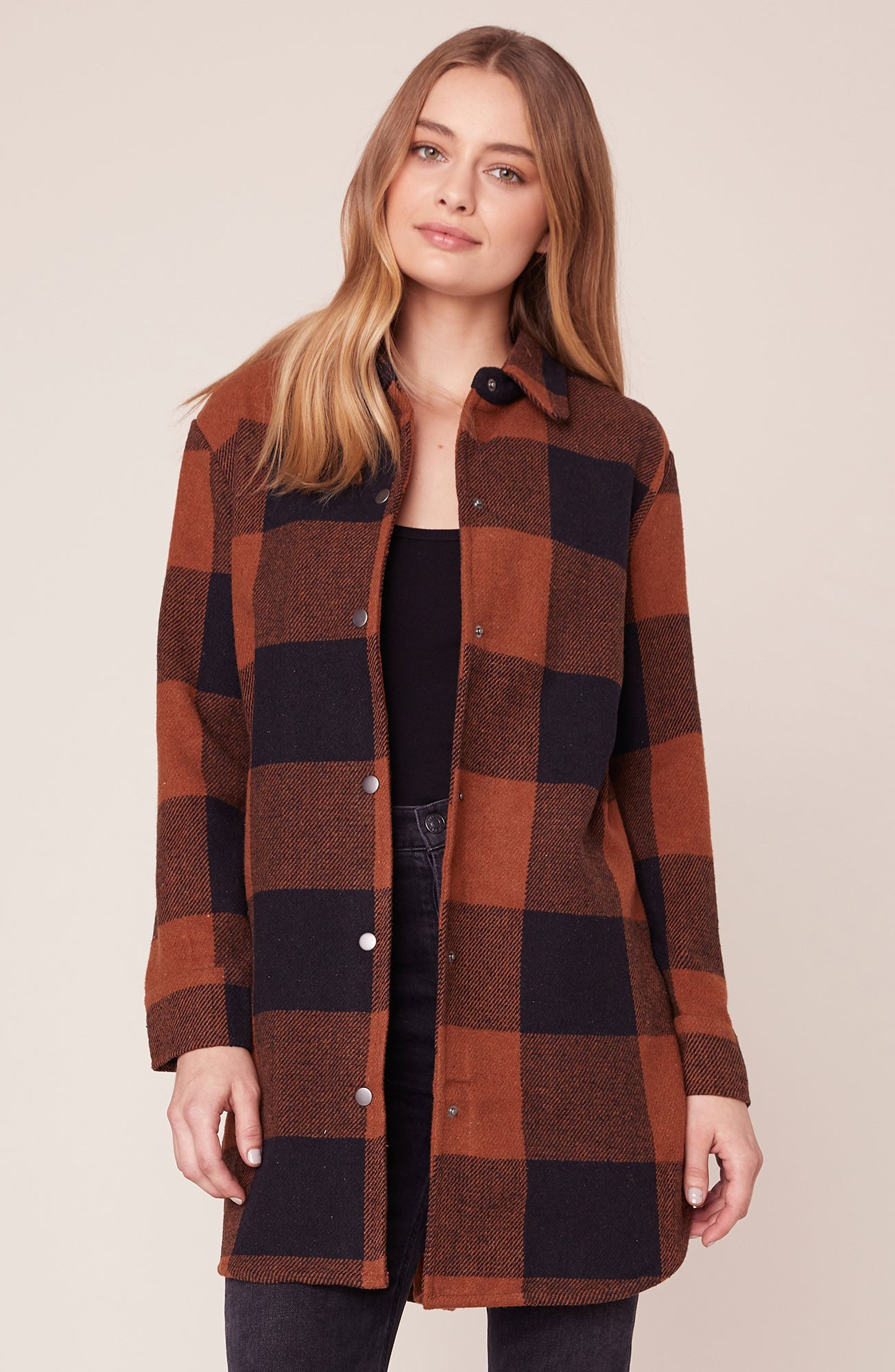 Trends Completer Plaid Jacket