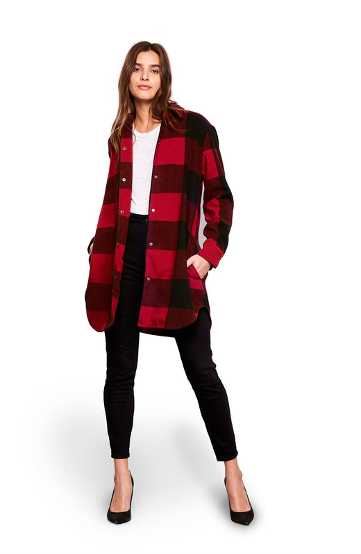 Eldridge Plaid Coat