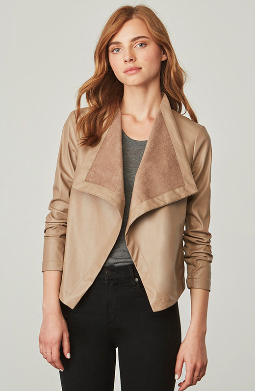 Gracelyn Vegan Leather Jacket