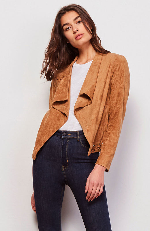 Arly Faux Suede Jacket