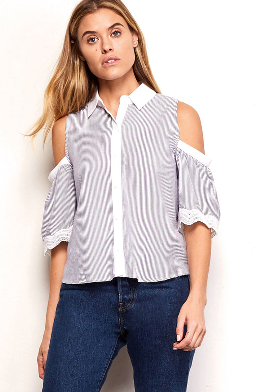 Jagger Striped Blouse