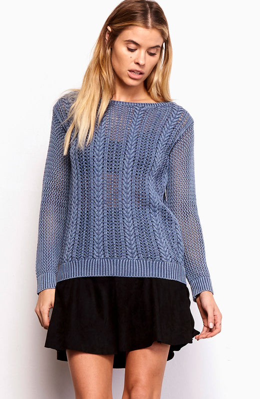 Brannon Cable Knit Sweater