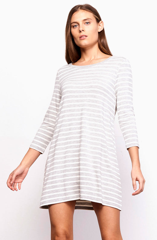 Adelene Striped Dress