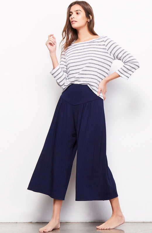 Lazy Sunday Wide Leg Pant
