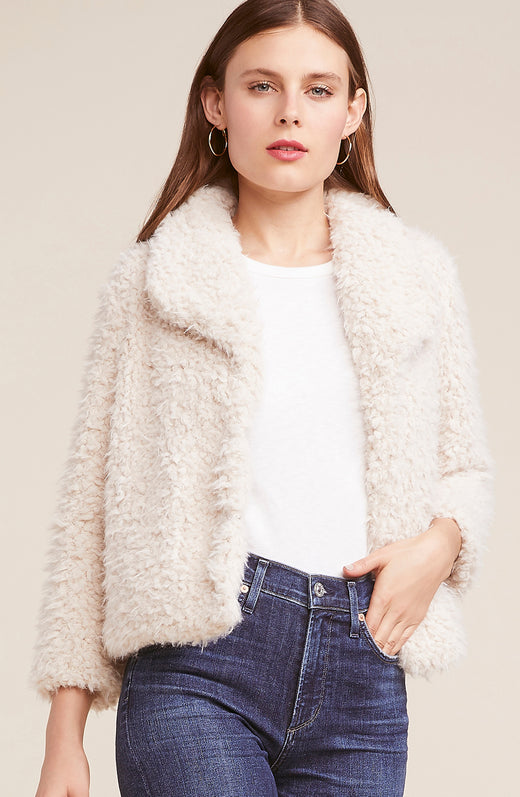 Hugs Don't Lie Faux Fur Jacket