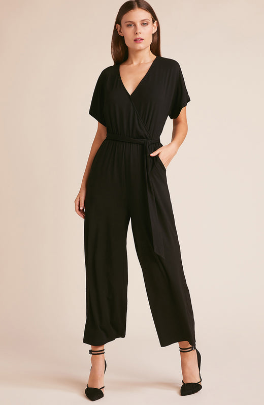 Friday Night Fever Tie Waist Jumpsuit