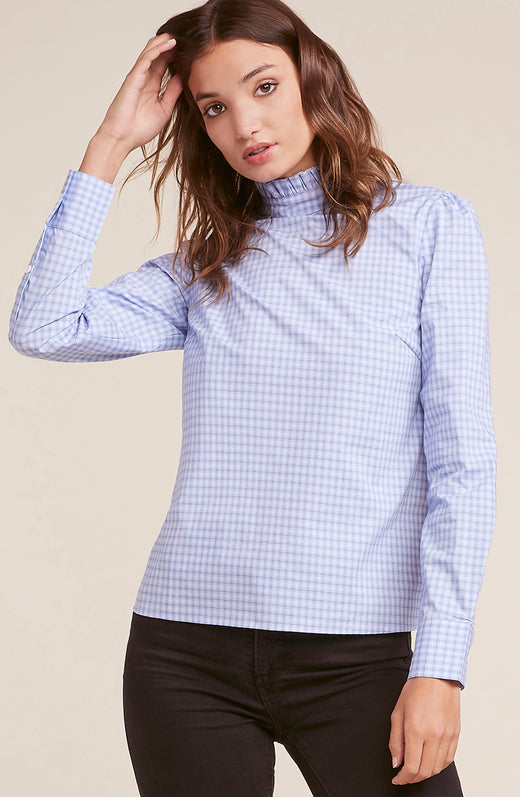 Five Stars For You Check Blouse