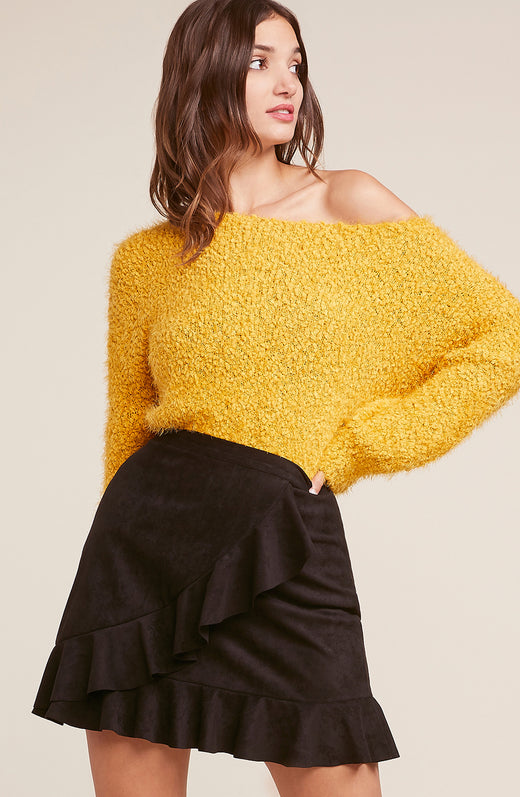 Shrug It Off Balloon Sleeve Sweater