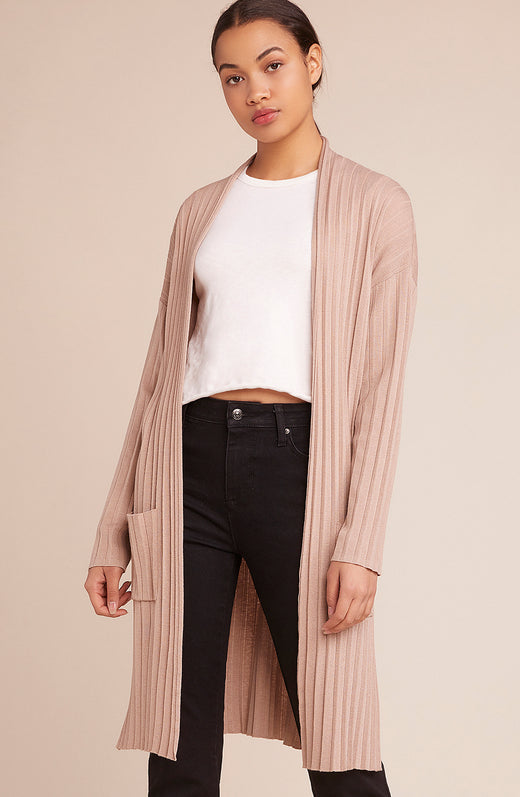 Dust It Off Pleated Cardigan