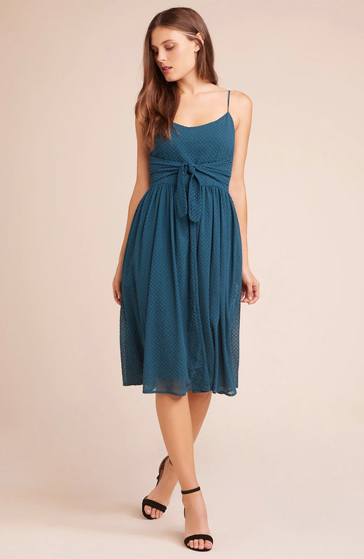 Take A Bow Tie Bodice Dress