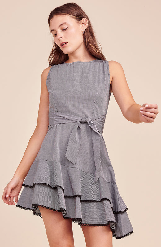 Holly Golightly Gingham Dress
