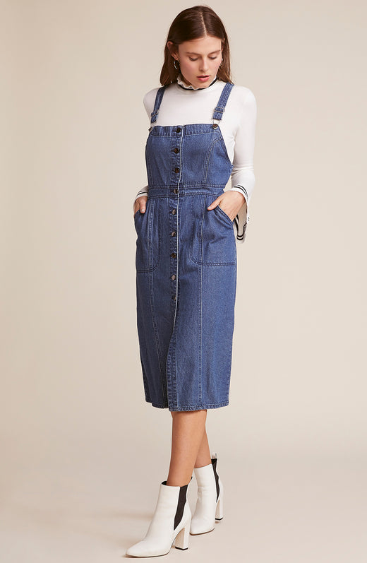 Labor Day Blues Overall dress