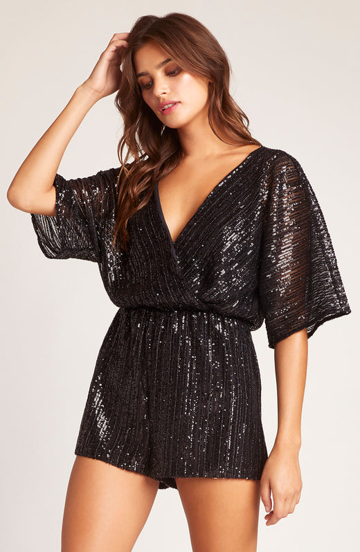 Superfly Sequin Romper