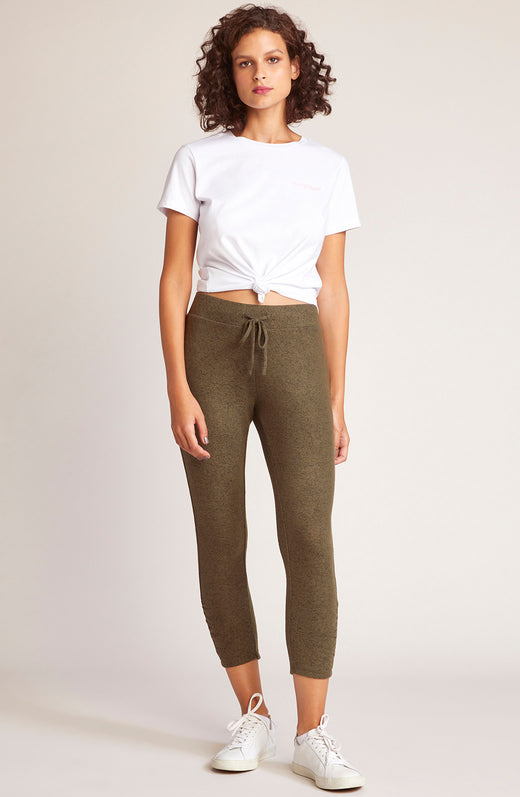 Joggin Around Crop Jogger Pant