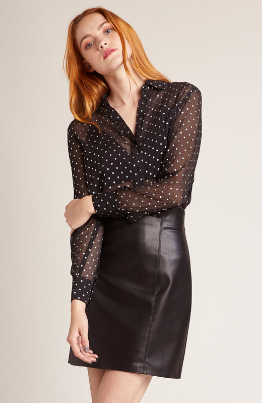 Constellation Printed Blouse