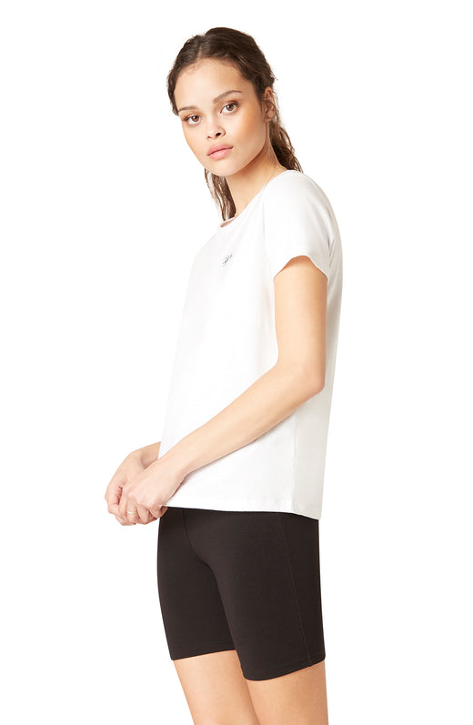 Off Duty Cutie Embroidered Tee